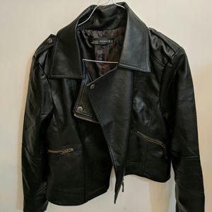 Zara Jackets & Coats - Never worn! --- Zara leather jacket